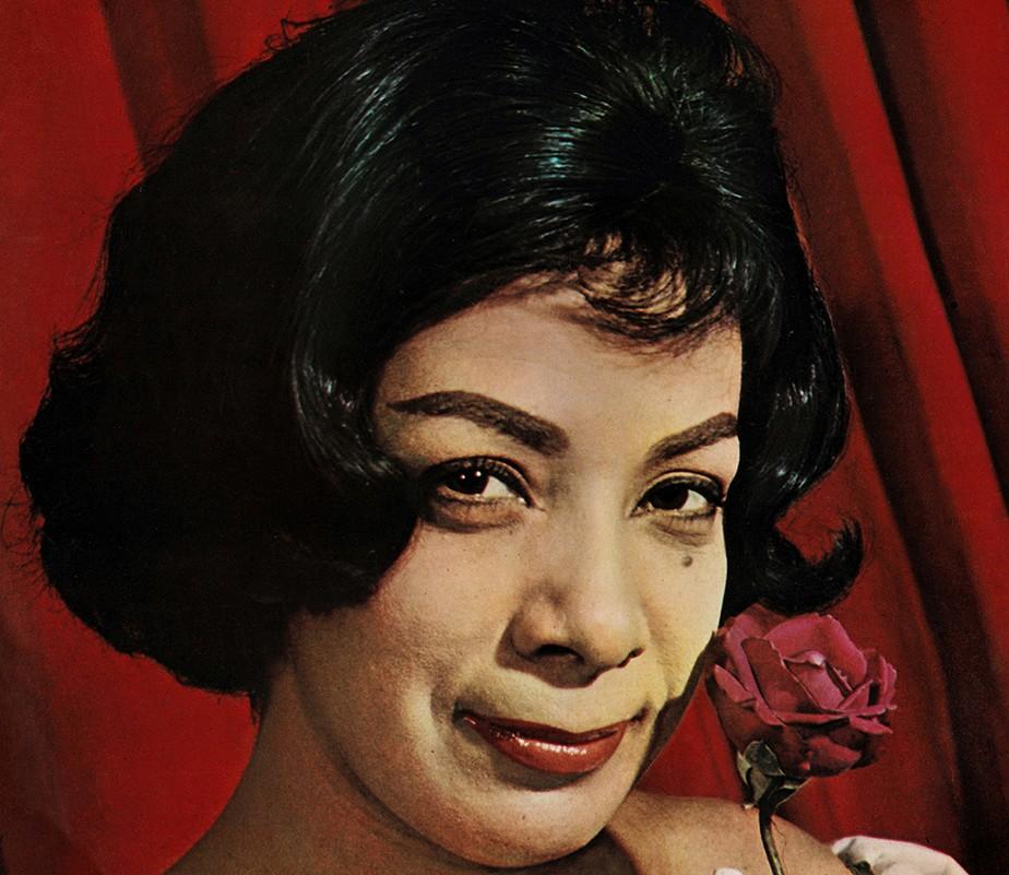 Elizeth Cardoso (Foto: Reprodução / Capa LP 'Naturalmente')