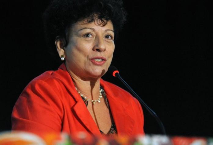 Ministra Nilcéa Freire, reitora da UERJ quando as cotas foram votadas lá