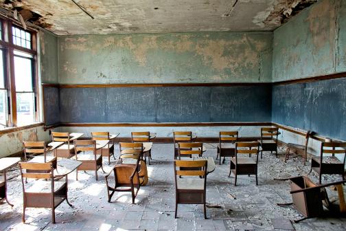 Pobres escolas do Brasil