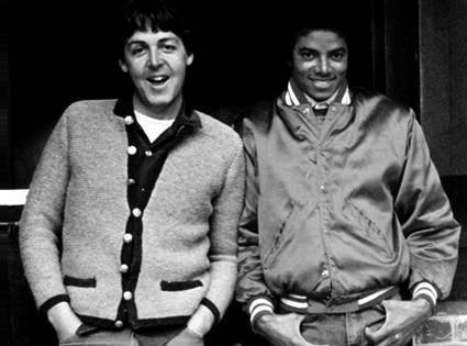 Jackson e Paul McCartney