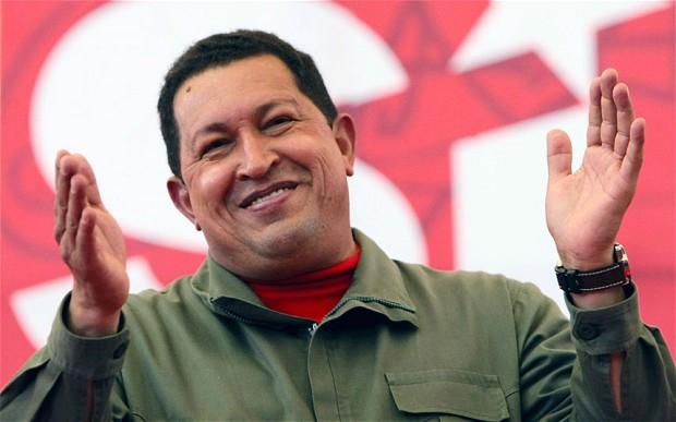 Hugo Chávez elogia Obama por pedir mundo sem bombas atômicas