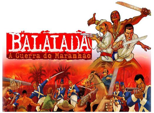 A Guerra da Balaiada no Período Colonial (Foto: Imagem retirada do site Cultura Livre)