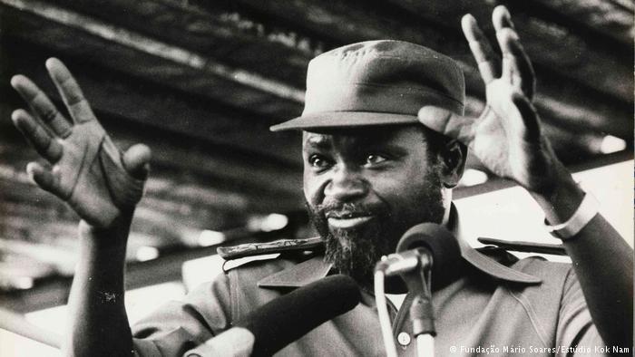 Samora Machel (Fundação Mário Soares/Estúdio Kok Nam)