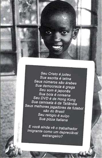 Manifesto contra a Xenofobia e o Racismo