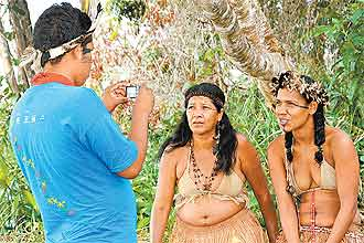 Vídeos expõem olhar dos índios