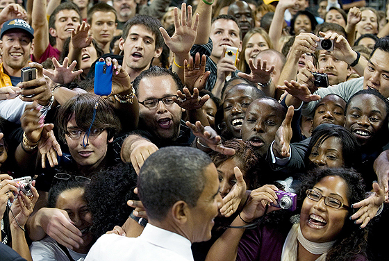Obama, mais exposto na mídia que Paris Hilton