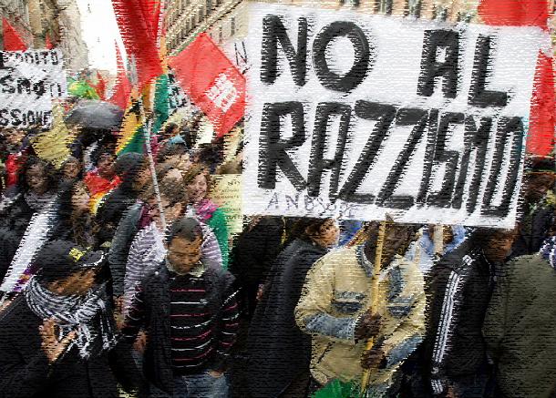 Ônibus evoca apartheid em cidade no interior da Itália