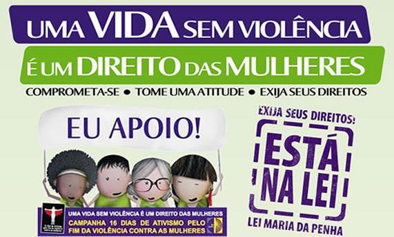 São Paulo várias cidades: 16 Dias de Ativismo pelo Fim da Violência contra as Mulheres