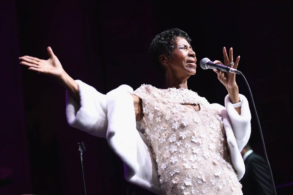 Aretha Franklin (Foto: Dimitrios Kambouris/Getty Images via AFP)