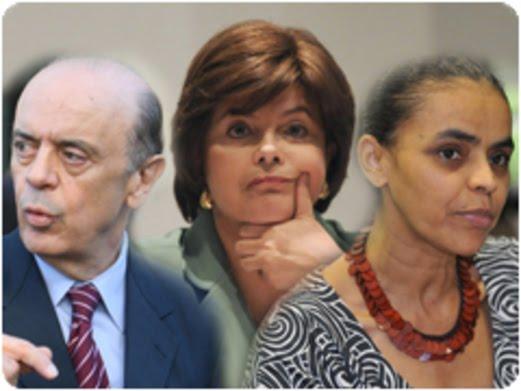 Veja as taxas de Dilma, Serra e Marina por região e sexo, na pesquisa Ibope