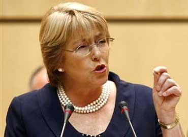 Mensaje de Michelle Bachelet - Fin de la violencia contra las mujeres
