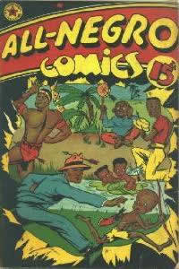 Capa de All Negro Comics