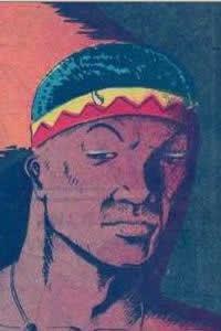 Lion Man, estrela de All Negro Comics