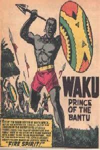 Waku, o primeiro herói negro da Marvel