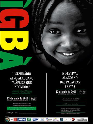 Na sexta-feira, 13 tem o IV Festival Alagoano das Palavras Pretas