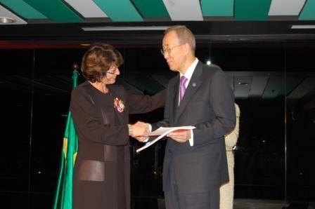 Brasil entrega, para Ban Ki-moon, 56 mil assinaturas de homens pelo fim da violência contra as mulheres
