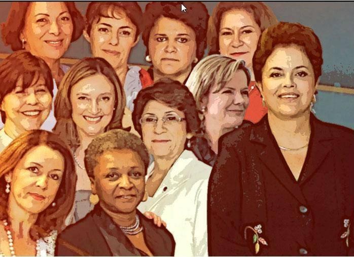Saiba quem são as mulheres poderosas de Dilma