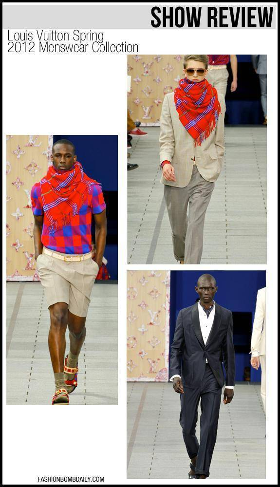 Show Review: Louis Vuitton Spring 2012 Menswear Collection