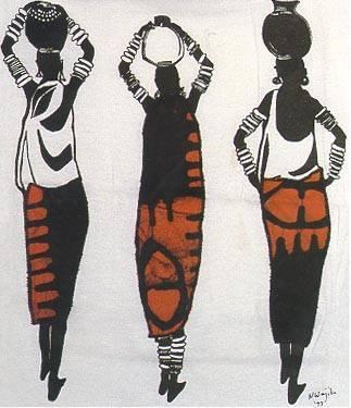 25/07 - Mulheres Negras realiza desfile com trajes africanos nos shoppings de Salvador