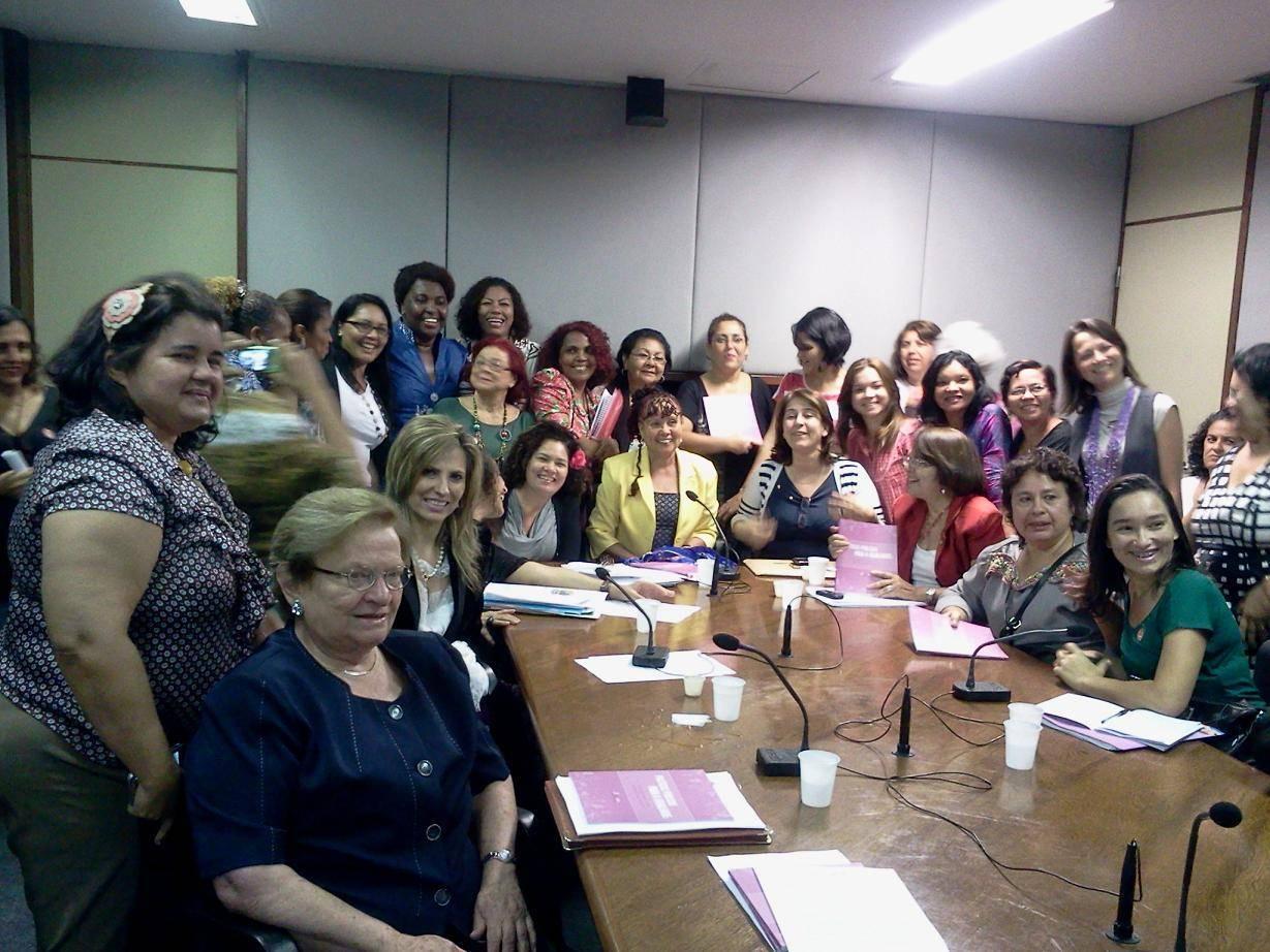 Bancada feminina quer mais recursos para políticas que atendam as mulheres