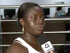 Ex-mulher de africano morto em MT quer levar corpo para Guiné-Bissau