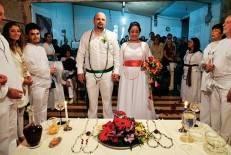Aumenta o número de casamentos no Brasil feitos em centro de umbanda e candomblé