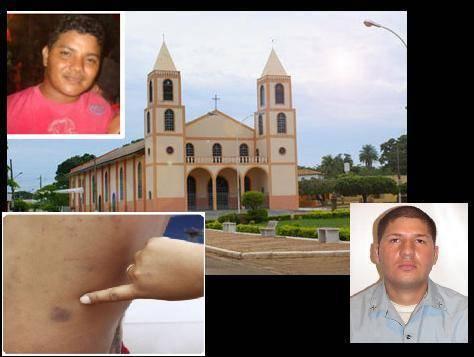 Trabalhador em Mato Grosso denuncia PM por tortura em que obrigou a beber água de cachorro com fezes