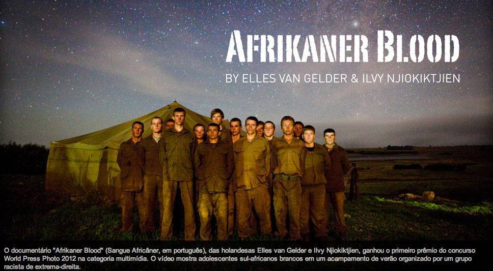 Acampamento 'ensina racismo' na África do Sul
