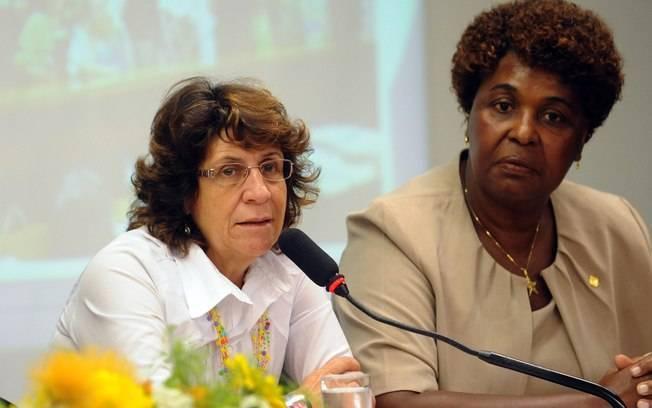 Benedita da Silva: 'agora, nós mulheres queremos ser votadas'