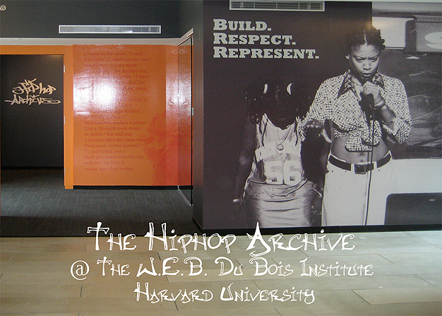"""""""The Hiphop Archive"""" (WEB Du Bois Institute - Harvard University)"""