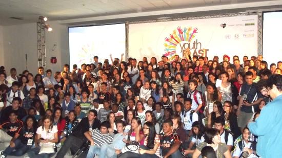 Youth Blast – Conferência de jovens para o Rio + 20.