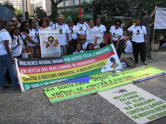 Campanha Vacine-se contra o Racismo e a Lesbofobia fez a diferença na Rio+20