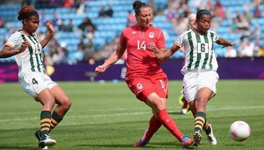Olimpíadas 2012: Canadá vence por 3 a 0 e deixa África do Sul mais longe da vaga