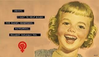 O feminismo, vivíssimo, rumo, ao desnecessário