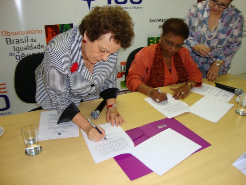 Ministras Eleonora Menicucci e Luiza Bairros assinam, nesta 5ª feira, protocolo de enfrentamento ao racismo institucional e à desigualdade de gênero
