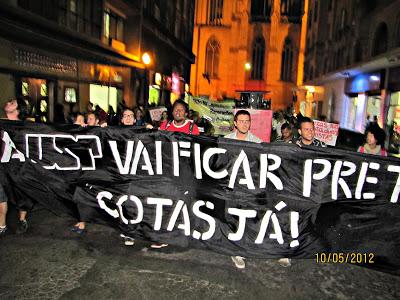 Apoie e Assine a proposta de COTAS RACIAIS nas Universidades Públicas de SP