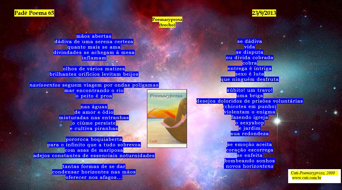 Padê Poema 65 - Cuti