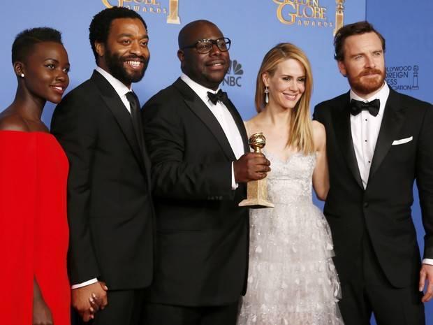 'Trapaça' e '12 anos de escravidão' vencem o Globo de Ouro 2014