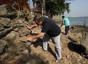 Arqueólogos acham peças de engenho de 1580 em São Paulo