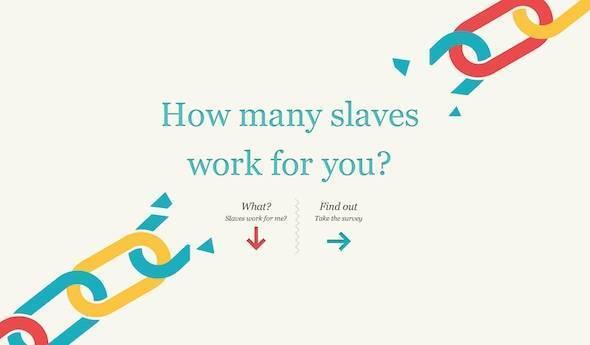Quantos escravos trabalham para você? Que tal fazer o cálculo?