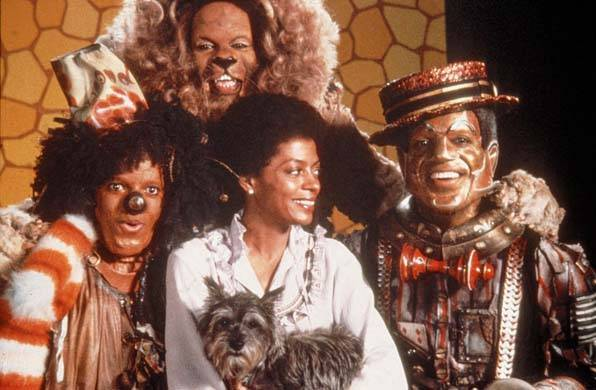 THE WIZ [US 1978] MICHAEL JACKSON, TED ROSS, DIANA ROSS, NIPSEY RUSSELL