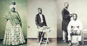 Cenas do cotidiano dos escravos em 1860, em fotografias de Cristiano Jr