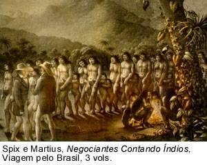 A Escravidão Indígena