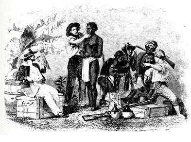 O tráfico ilegal de africanos escravizados