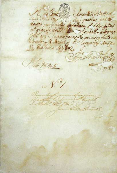recibo_autografo_de_aleijadinho_1802