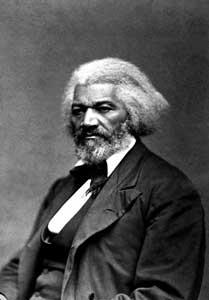 Frederick Douglass, que trabalhou em prol da abolição da escravidão com Tubman e a elogiou por escrito