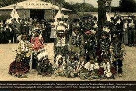 Exposição mostra como seres humanos foram exibidos em feiras, circos e zoológicos no fim do século 19
