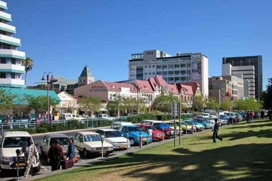 A África, no entanto, tem moderníssimos centros urbanos