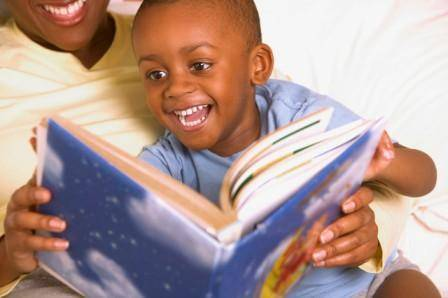 African_American_Dad_and_Child_Reading