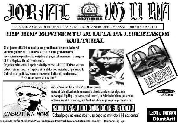 A presença de Amílcar Cabral na música RAP na Guiné-Bissau e em Cabo-Verde - Por: Redy Wilson Lima e Miguel de Barros